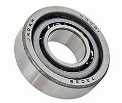 105 mm x 225 mm x 49 mm  NACHI 7321B Cojinetes De Bola De Contacto Angular